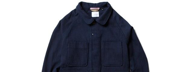 Apolis Indigo Chore Jacket