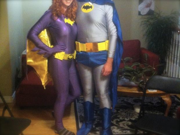 Batman Batwoman Vintage Costumes