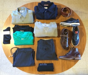 1 Year 1 Outfit Viberg Outlier Apolis