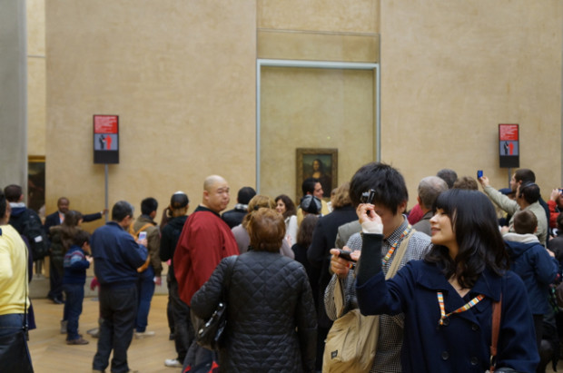 The Louvre Crowds