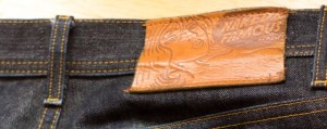 Denim indigo jeans