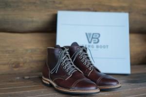 brown chromexcel leather footwear