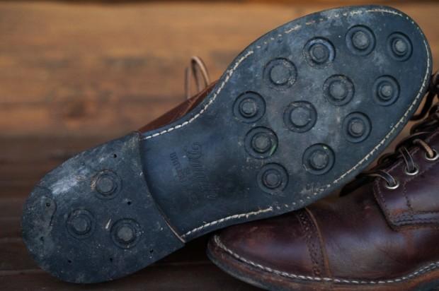 brown chromexcel leather footwear dainite sole