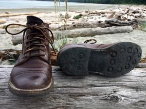 brown chromexcel leather footwear dainite soles