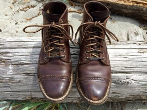 horween brown chromexcel leather footwear